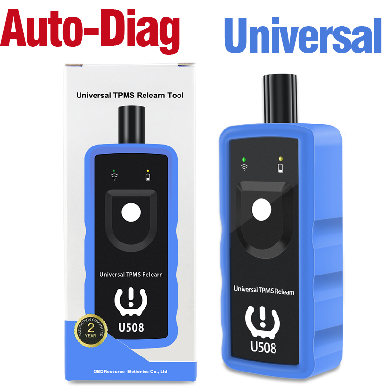Universal for Mercedes BMW GM Ford Opel Chrysler Tire Presure Monitor Sensor Activation Tool U508 Car TPMS Relearn Tools EL50448