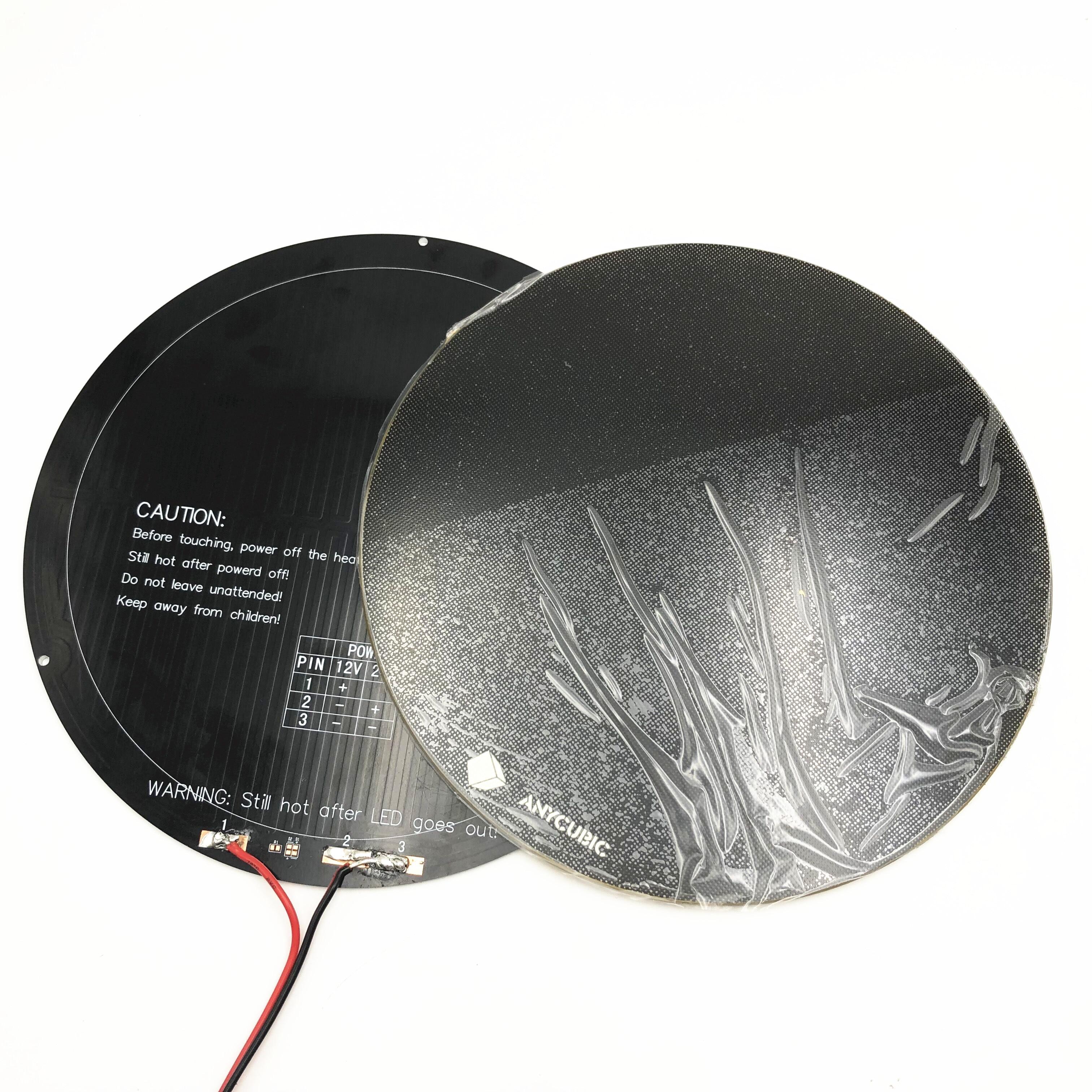 3 мм алюминий 240 мм Горячая кровать 4 мм ультрабук сборка поверхности стеклянная пластина для diy ANYCUBIC шкив/линейный плюс коссель 3d принтер