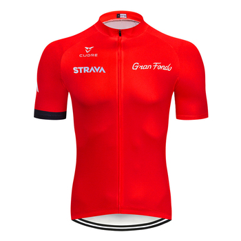 STRAVA Pro Cycling Jersey Racing Bike Clothing MTB Bicycle Clothes Summer Cycling Clothing Hombre Maillot Ropa Ciclismo NW