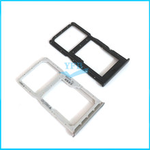 10pcs SIM Card Tray Slot Holder Adapter For Huawei Nova 4e P30 lite Micro SD Reader Card Holder Repair Replacement Parts(China)