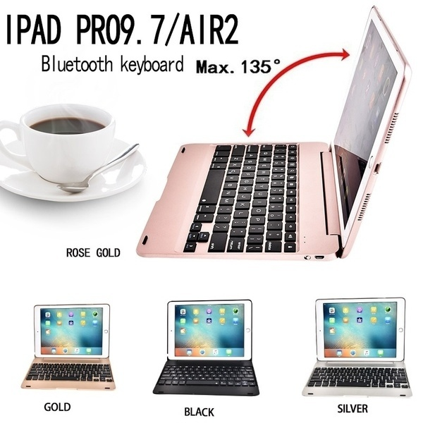 Die Neue Bluetooth Tastatur Air2 Drahtlose Bluetooth Flip-Über Tastatur, Eingebaute Bluetooth 3,0 Drahtlose Tastatur und Ipad Pro