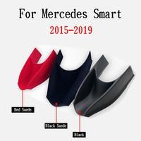 Para mercedes benz smart 453 fortwo forfour 2015 2019 carro caixa de armazenamento centro braço recipiente luva organizador automático acessórios Molduras interiores Automóveis e motos -
