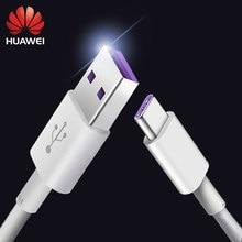Huawei 5a cabo p30 mate30 x p20 pro lite super carga 5a usb tipo c cabo 100% honra original v10 10 mate20 p20 pro lite