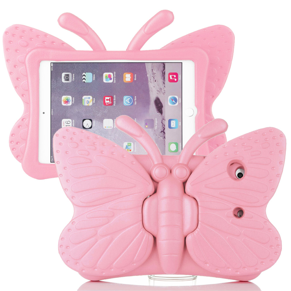 Pale Pink Pale Pink for iPad Air 4 Case 2020 A2316 A2324 EVA Safe Kids Handle Stand Tablet Case Cover