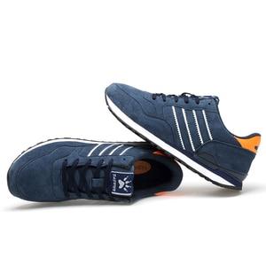 Image 4 - Valstone mężczyźni wiosna oryginalne skórzane buty sportowe 2020 wodoodporne mokasyny trenerzy antypoślizgowe buty Zapatillas de deporte wygodne