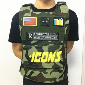 Image 4 - Bulletproof דגל במגמת CS אפוד טקטי אפוד הצבאי וסטים טקטי ציוד ציד בגדי דיג סוס רכיבה וסטים