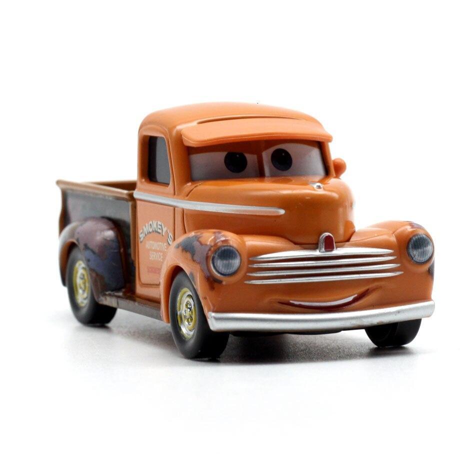 Disney Pixar тачки 3 20 стильные игрушки для детей Молния Маккуин Высокое качество Пластиковые тачки игрушки модели персонажей из мультфильмов рождественские подарки - Цвет: 37