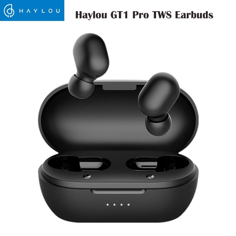 Haylou GT1 Pro auriculares TWS, inalámbricos por Bluetooth, estéreo, HD, batería larga, auriculares con micrófono Dual y aislamiento de ruido Auriculares y audífonos  - AliExpress