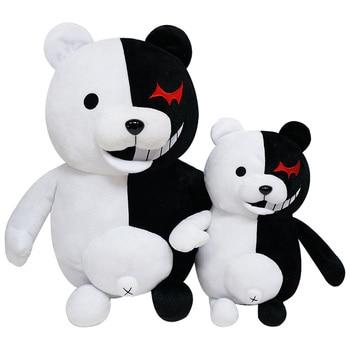 2020 Dangan Ronpa Super Danganronpa 2 Monokuma Black & White Bear Toy Soft Stuffed Animal Dolls мягкие игрушки for Children gift - discount item  20% OFF Stuffed Animals & Plush