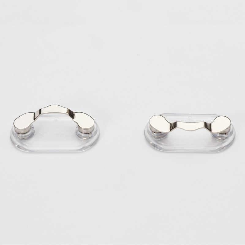 Sterling Silver Black Eyeglass Holder 20mm