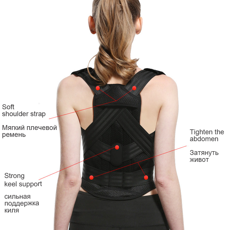 Chasall Posture Corrector Belt to Correct Back and Shoulder Posture  Provides Back Support Prevents Habitual Hunchback Helps to Relieve Shoulder and Back Pain 13