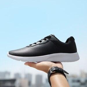 Image 1 - OZERSK 브랜드 2021 가을 큰 크기 35 47 Pu 가죽 남성 신발 캐주얼 클래식 스 니 커 즈 남성 Unisex 편안한 신발