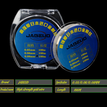 цена на JABEUD gold steel wire 100M screen separation cutting rust high tensile strength touch screen line separator special line