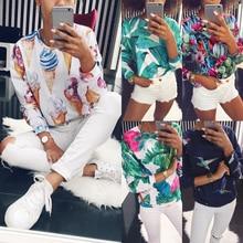 New Women Sweatshirt Fashion Ladies Printed With Round Neck