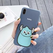 IMIDO New Anti-fall Fashion Phone Cases Water Pasting PC For XIAO MI Cute Simple Cartoon