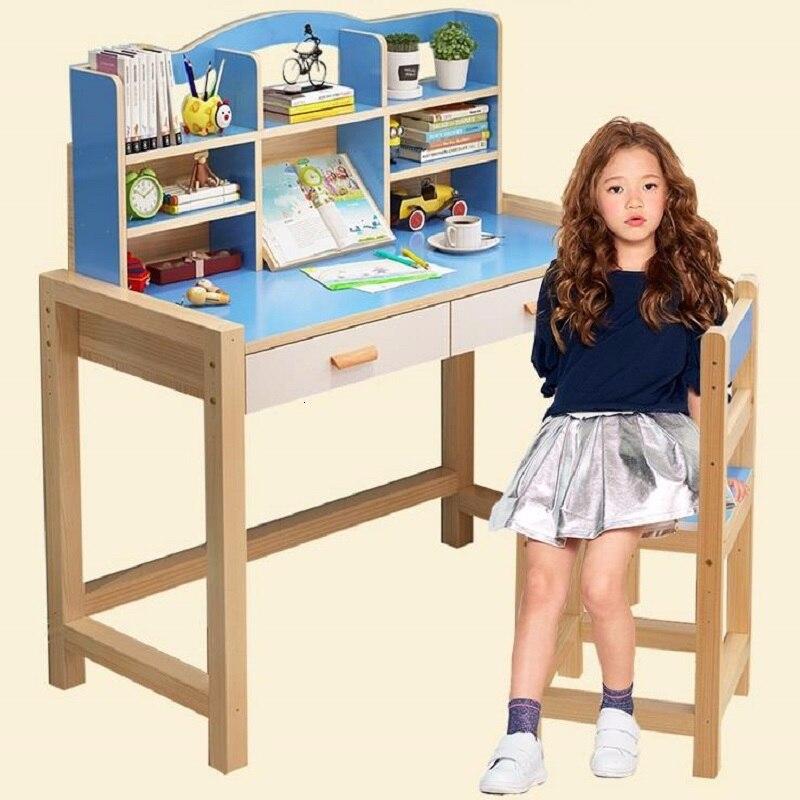 Dzieci Pupitre Infantil Tavolino Mesa De Estudio Toddler Scrivania Bambini Adjustable For Bureau Enfant Kinder Kids Study Table