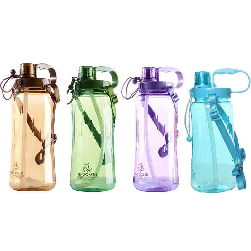 1 PC Fashion Sports Water Bottle Fitness Gym Camping Outdoor Picnic Cycling Kettle Portable Lightweight|Sports Bottles| |  - title=