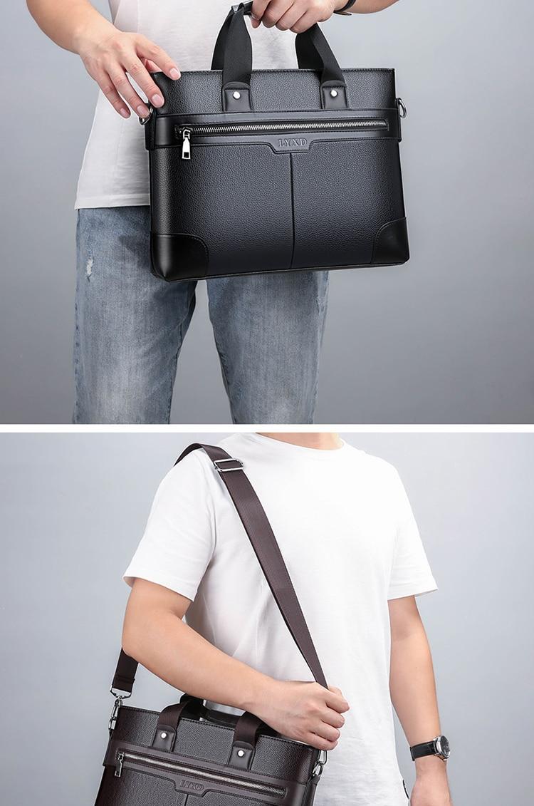de negócios bolsas preto saco masculino para