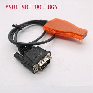 Image 3 - Original Xhorse VVDI MB BGA WERKZEUG Infrarot Smart Key Adapter für Mercedes Benz MB BGA Auto Remote Key Infrarot Stecker kabel
