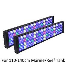 שונית led אקווריום אור אקווריום אור 120cm הימי led אור אקווריום מנורת עבור אקווריום אורות אלמוגים led