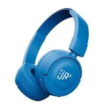 Écouteurs sans fil Bluetooth T450BT, oreillettes pliables d'origine, son des basses profondes, casque de sport, avec micro, suppression du bruit