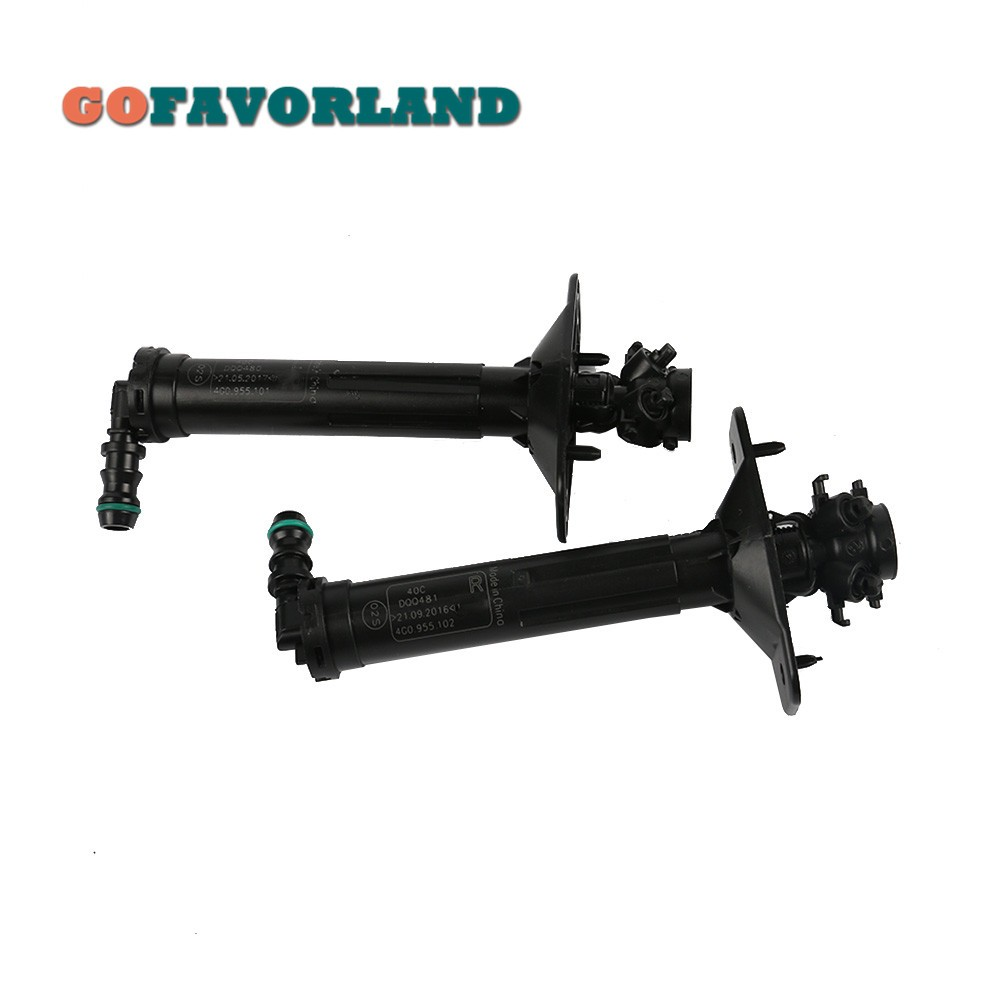 For Audi A6 allroad Quattro 2013-2016 RS6 2013-2016 Front L+R Headlight Washer Sprayer Pressure Cylinder 4G0955101 4G0955102