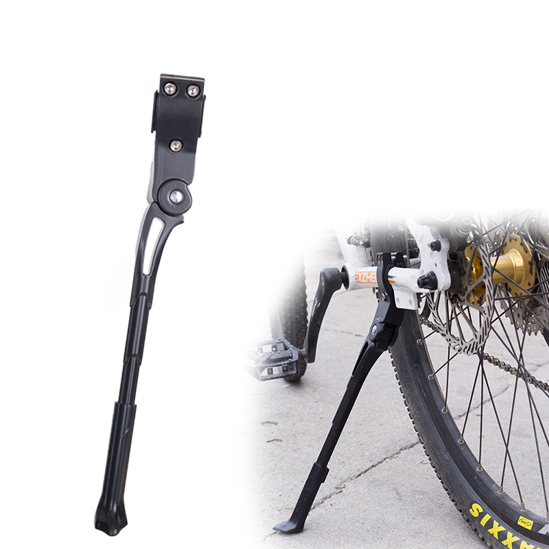 Bicycle Kick Stand Road Bike Kickstand Heavy Duty Adjustable Mountain Bike Bicycle Cycle Prop Side Rear Parking Rack