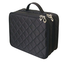Beautician Necessary Double Layer Cosmetic Bag Box Women Bea