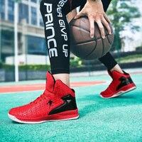 Chiang men amortecimento basquete-sapatos anti-skid breathble grande tamanho unisex cor tênis para ginásio e treinamento de rua sprots