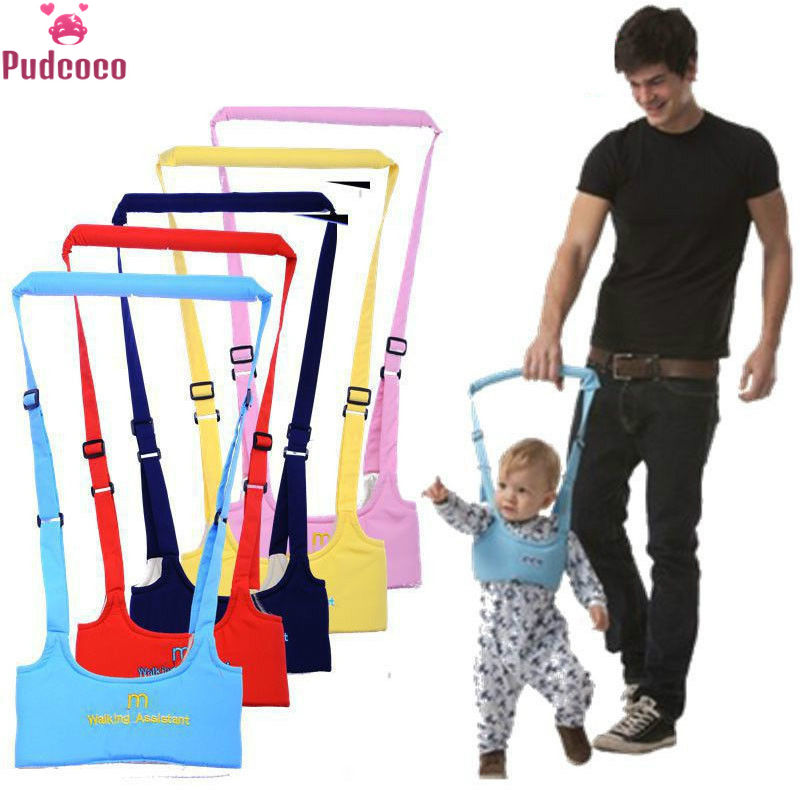 Pudcoco Brand Newborn Walking Aid Safety Rein Train Leashes Baby Walker Toddler Baby Harness Arnes Bebe Baby Wngs Leash Walker