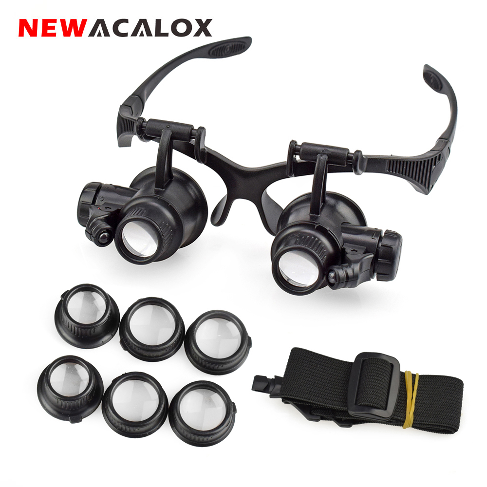 WATCHMAKERS /& JEWELLERS 3x MAGNIFIER EYEGLASS MAGNIFYING EYE GLASS LOUPE LENS
