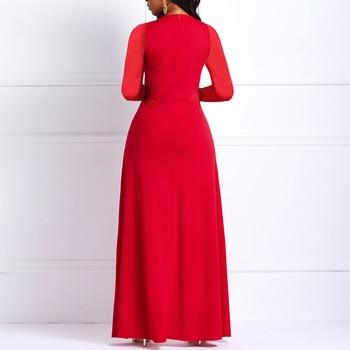 Black Long Sleeve Plus Size High Waist Straight Plain Jumpsuit Women Elegant Formal Party Slim Ladies Wide Leg Jumpsuits 4