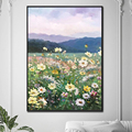 Handmade Paintings Wall Art Oil Paintings Colors Abstract Picture Home Decor Canvas Flowers For Living Room Modern No Frame