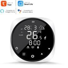 TUYA Wifi inteligente termostato de agua eléctrico piso caldera a Gas para calefacción de temperatura controlador remoto apoyo Alexa Google