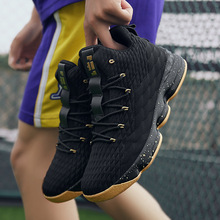 High-top Lebron Basketball Shoes Men Women Cushioning Breathable Basketball Sneakers Anti-skid Athletic Outdoor Man Sport Shoes