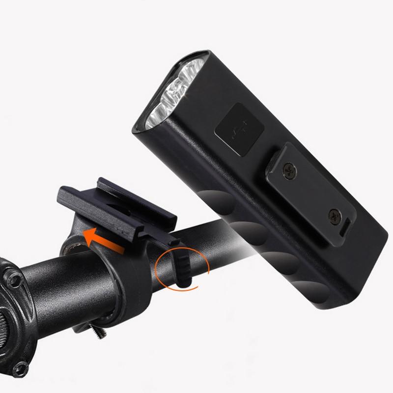 XANES XL29 Light 18650mAh Battery 3 Modes USB Motorcycle E-bike Bike Bicycle Cycling Flashlight Powered Bank LED Torch Lantern