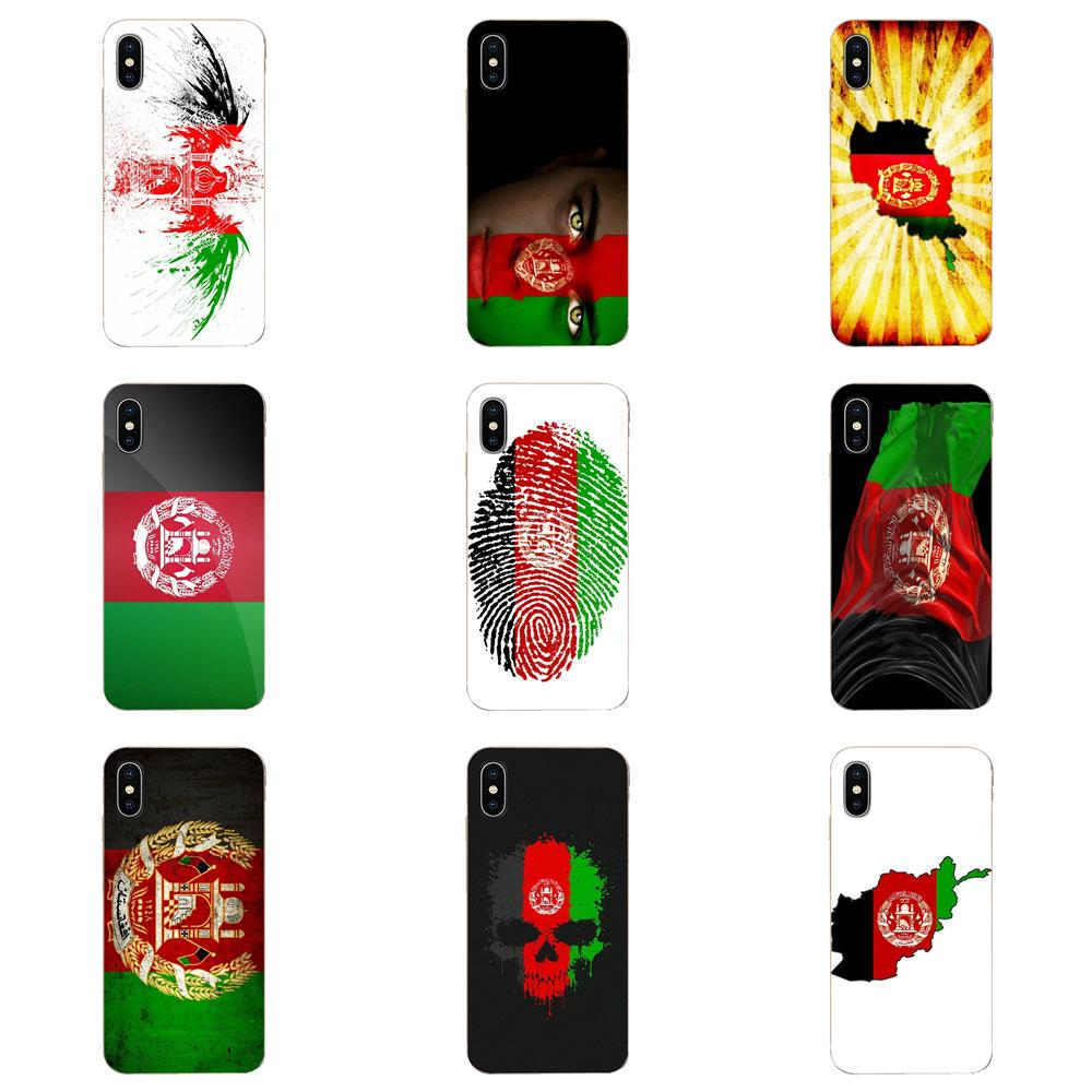 Флаг Афган АФ флаг баннер для Apple iPhone 4 4S 5 5C 5S SE 6 6S 7 8 11 Plus Pro X XS Max XR окрашенный чехол для телефона