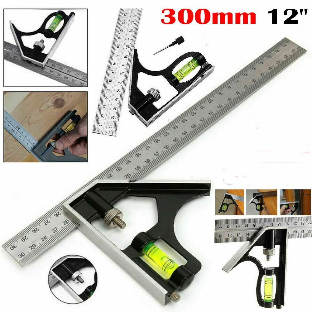 Square Ruler Set Kit 300mm (12