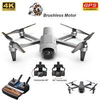Nuovo iCamera 1 Drone 4K HD telecamera professionale RC pieghevole Quadcopter droni 5G WiFi FPV 2 assi Gimbal Rc elicottero Vs F11 Pro