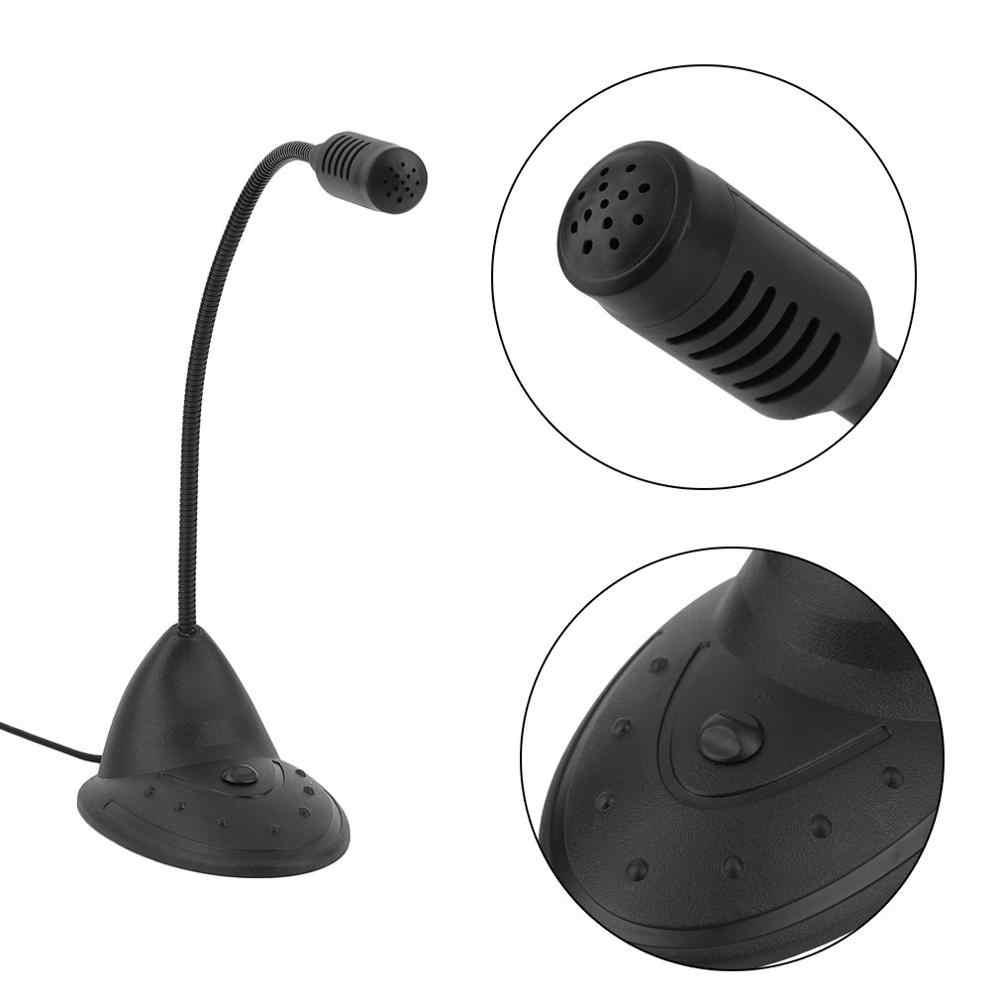 Mikrofon biurkowy CD-2000 mały praktyczny Notebook mikrofon komputerowy Studio stojak do mikrofonu uchwyt na Pc