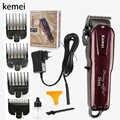 Cortadora de pelo Kemei, cortadora de pelo sin cable para hombre, afeitadora, recortadora de pelo eléctrica, KM-2600, herramienta de estilismo 5