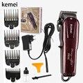 Kemei машинка для стрижки волос Беспроводная стрижка мужская борода бритва триммер для волос электрическая машинка для стрижки волос KM-2600 инс...