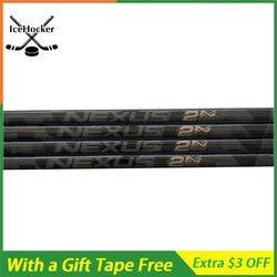 Limited Edition Ice Hockey Stick 2N Pro Schatten Volle Carbon Faser Hockey sticks mit ein Freies Band mit Grip 420g FREIES VERSCHIFFEN