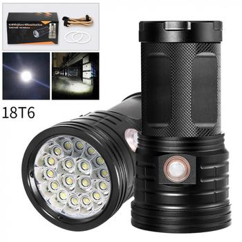 Flashlight 18 x XML-T6 LED 7200 Lumens Super Bright Torch Flash Lamp Flashlight + Micro USB Charging Port for Lighting Charging sitemap 19 xml