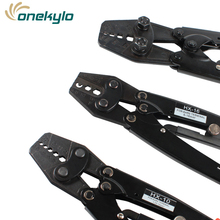 Japanese Crimping Pliers Cable Lug Crimper Tool Bare Terminal Wire Plier Cutter  0.5-38mm2 Crimping tools pliers цена 2017