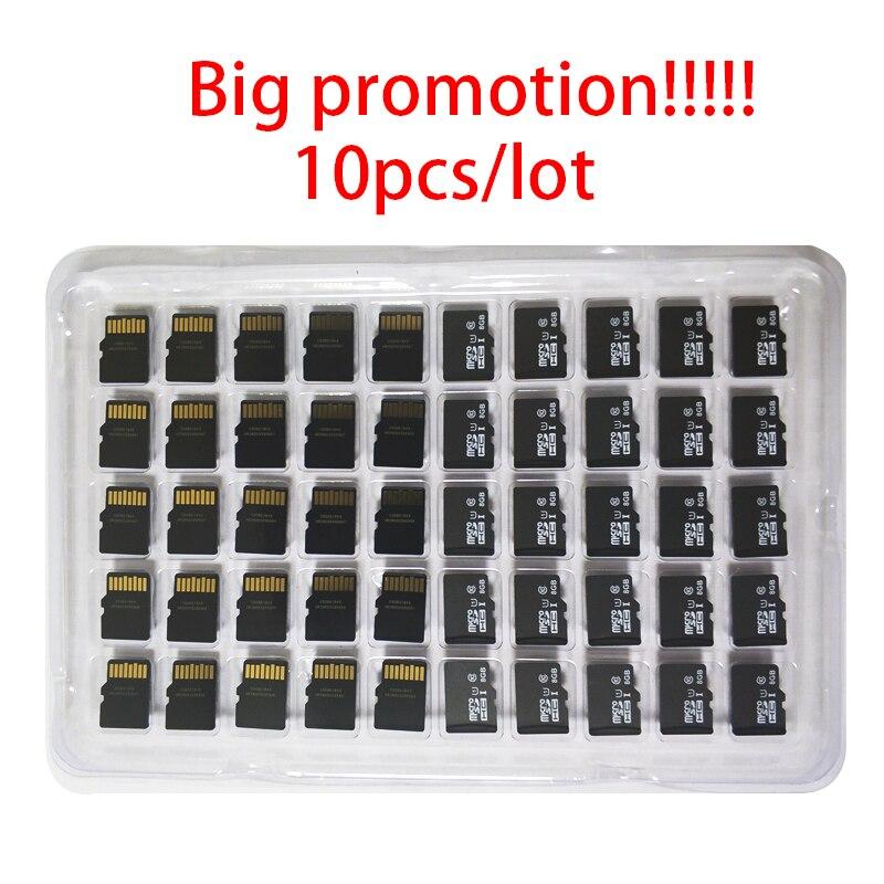 10pcs A Lot 8GB 16GB 32GB 64GB Micro SD Card C10 TF Class 10 CellPhone MobilePhone Memory Card