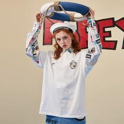 Unifree 2020 New Blouse for Women Shirt Female Design Sense Niche Retro Flavor Long Sleeve Loose Print Fashion U193D715TT