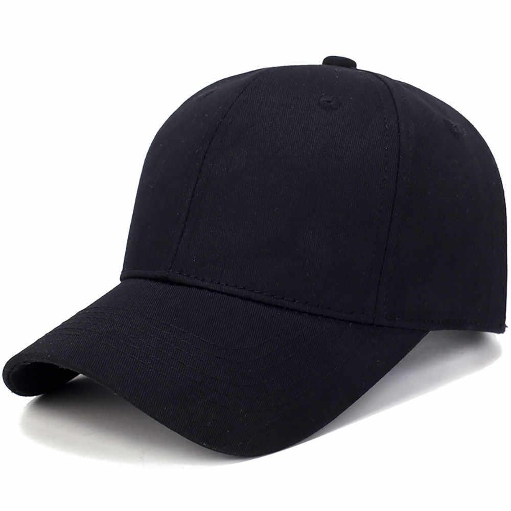 Unisex Topi Katun Lampu Papan Padat Warna Bisbol Cap Outdoor Sun Hat Casquette Femme Gorros Kasual Streetwear Gorra Mujer