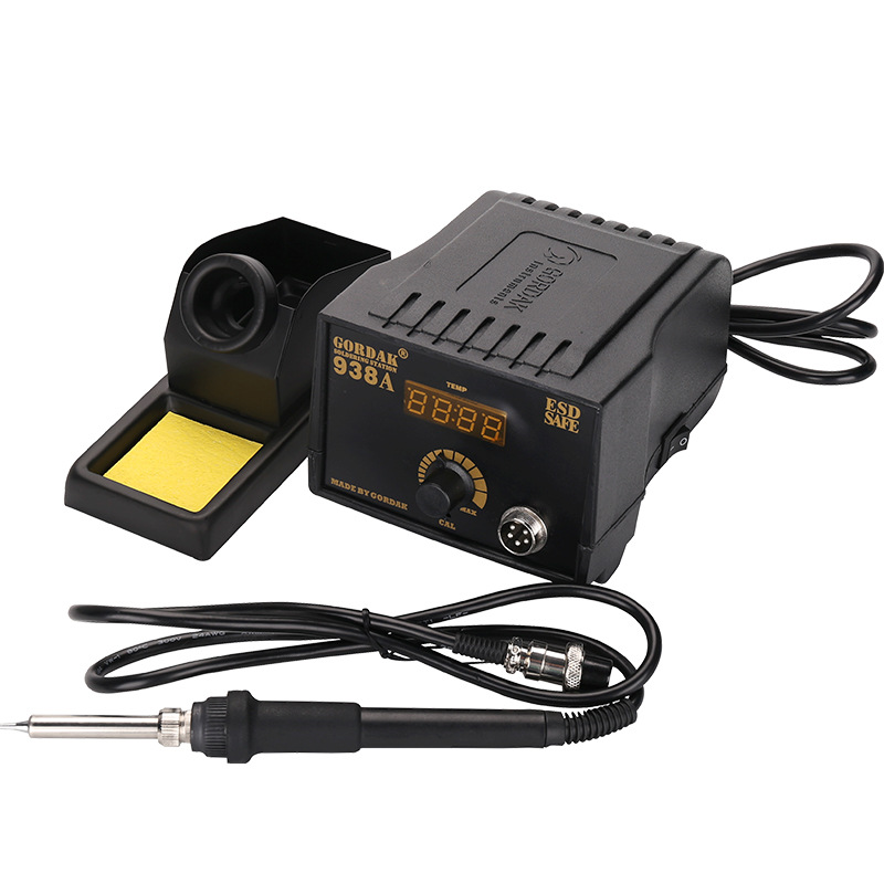 GORDAK 938A / 938B LED Display Constant Temperature Solder Iron Soldering Station Electric Soldering Iron Welding Tools