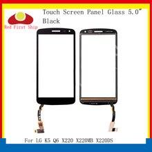 10Pcs/lot Touch Screen For LG K5 Q6 X220 X220MB X220DS Touch Panel Digitizer Sensor Front Outer X220 LCD Glass Touchscreen lg lg k5 x220ds 8гб золотой